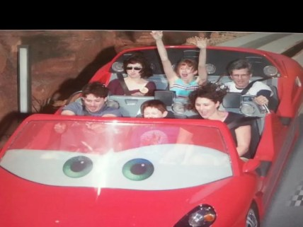 cars ride disneyland