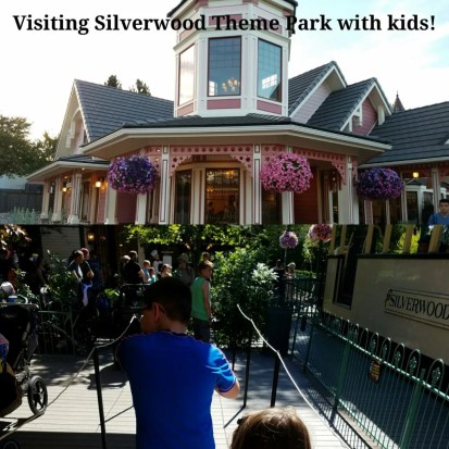 silverwood theme park with kids