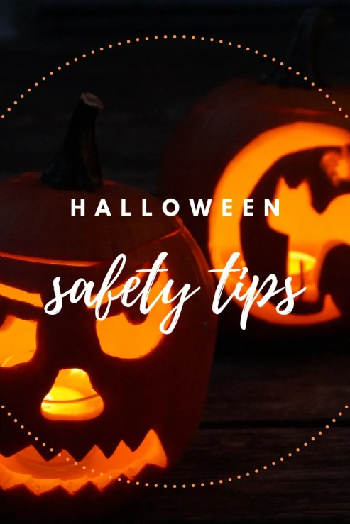 Happy Halloween! Tips for having a safe Halloween this year!