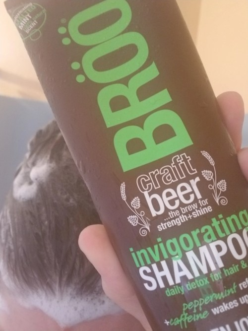Beer really does make you look good! with BROO Shampoo & Conditioner!