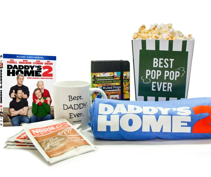 Daddy's Home 2 now available for purchase & enter to win a prize pack giveaway!