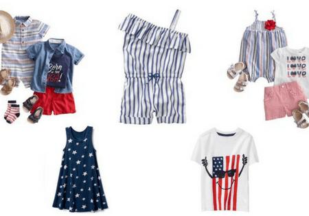 4th of July Baby & Kids outfits! #kidsfashion #4thofJuly