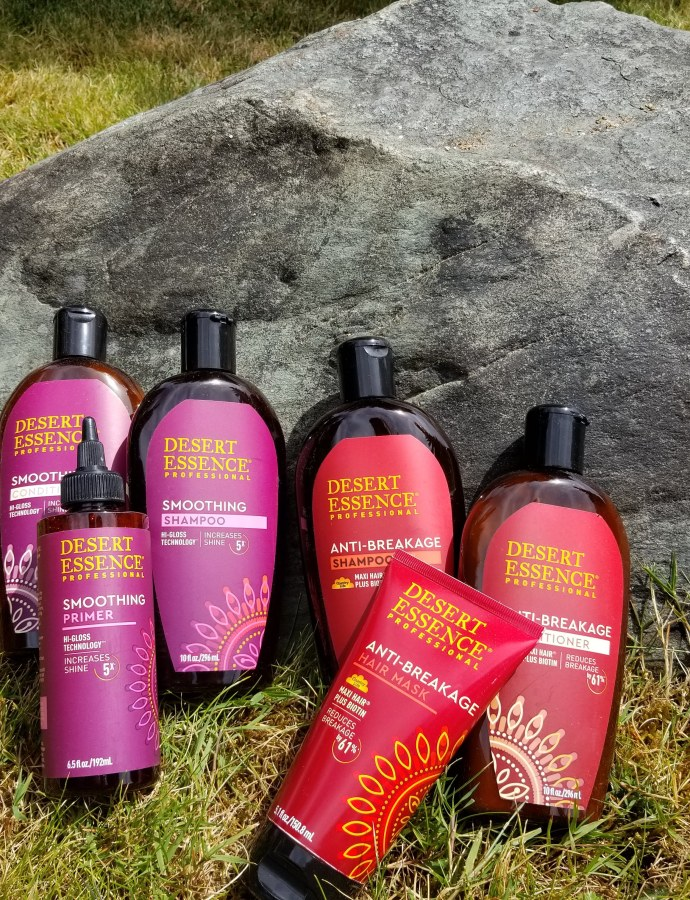 Check out why I love Desert Essence's Anti-Breakage hair care products