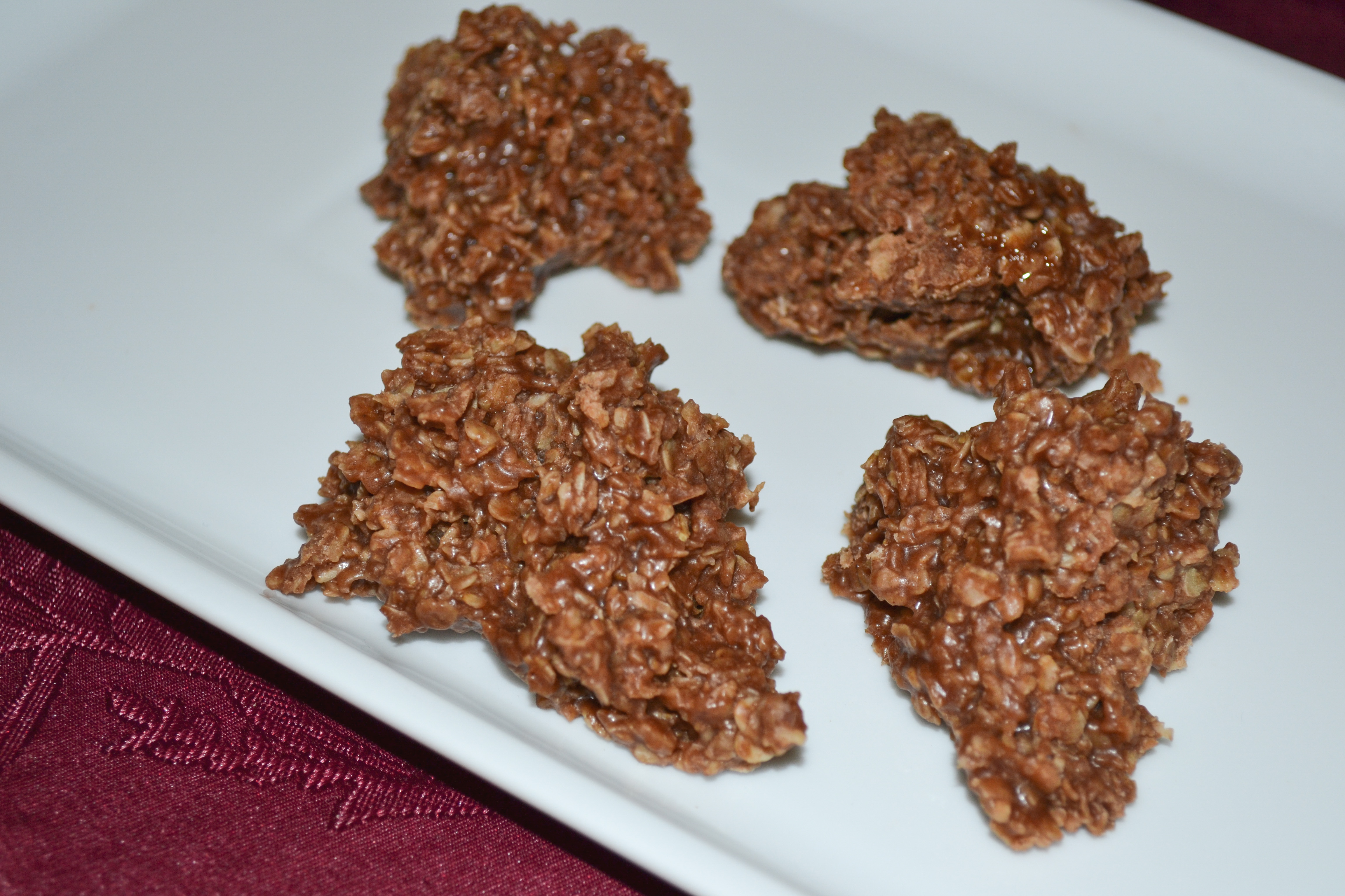Easily the best No Bake Oatmeal Cookies around!