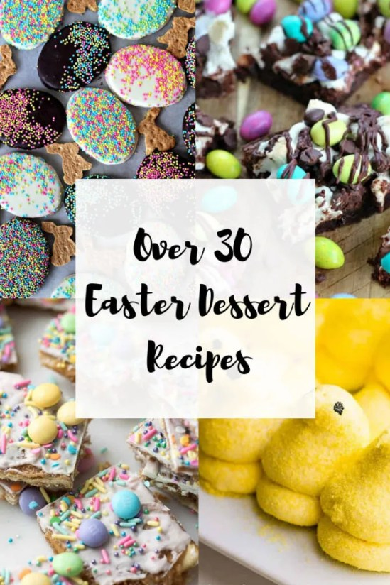 List of Easter Dessert Recipes from around the web