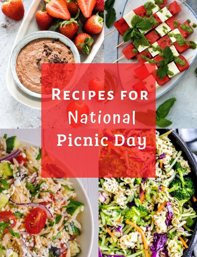 Recipes for National Picnic Day