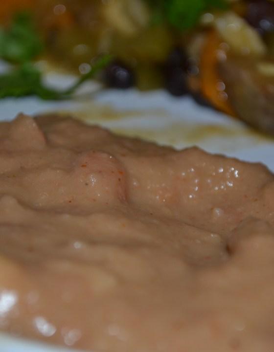 Restaurant Style Refried Beans