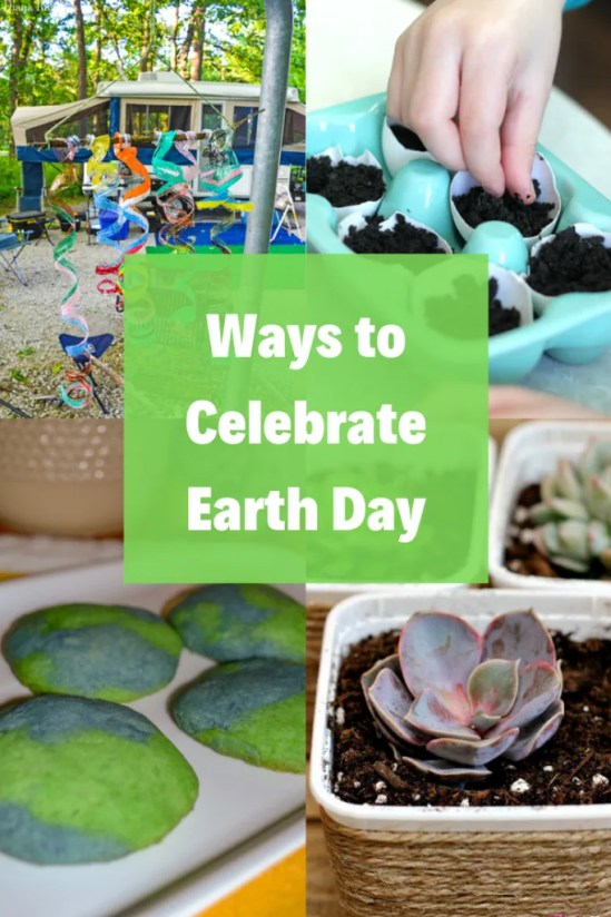 A list of great ideas on how to celebrate Earth Day