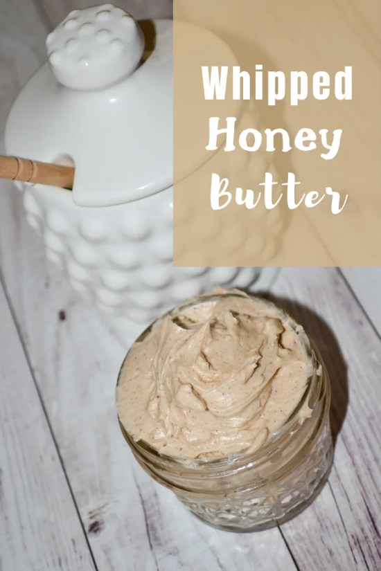Recipe for a Whipped Honey Cinnamon Butter, taste amazing and very easy to make.