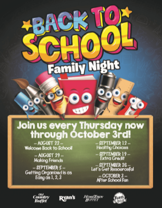 Enjoy family with Ovation Brands' Back to School Family Night #giveaway