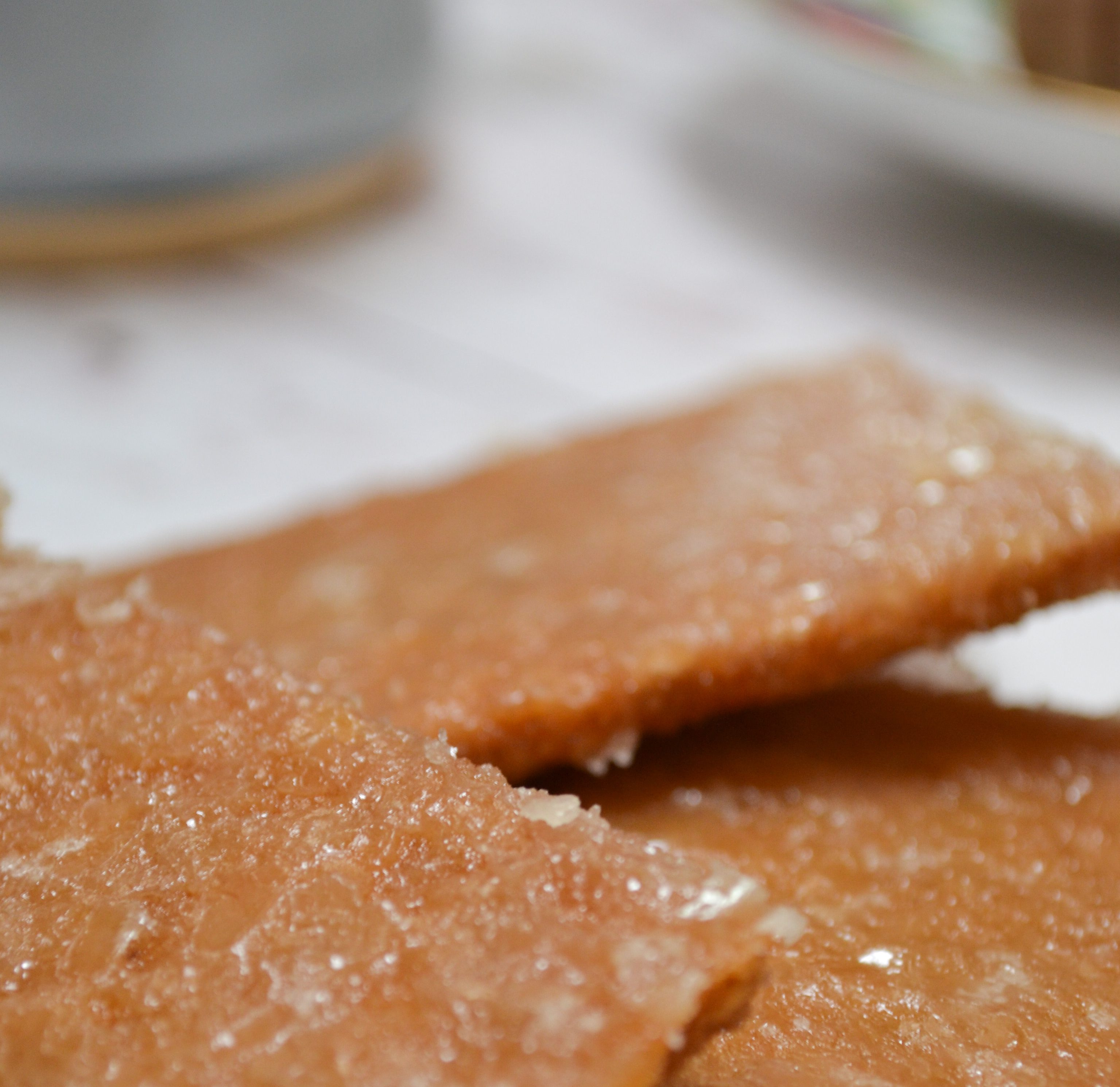 This Graham Cracker Cookie Recipe is amazingly good and very easy to make! Great with your coffee/tea and an ice cream topping.