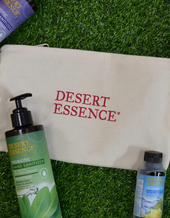 Kill Germs & Nourish Your Body with Desert Essence Probiotic Hand Sanitizer