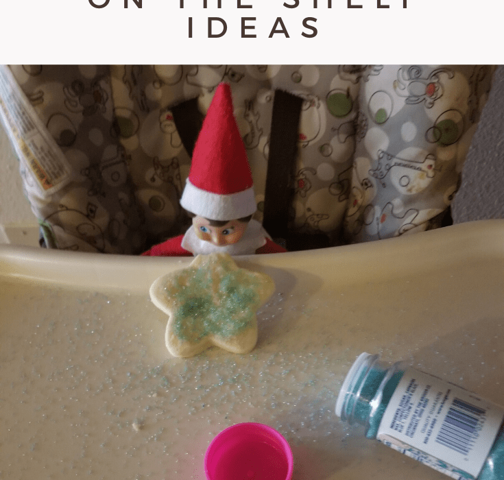 A ton of different Elf On The Shelf ideas!