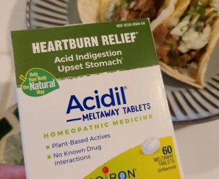 Boiron Acidil Meltaway Tablets – Comfort Food Without the Discomfort