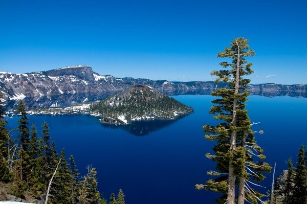 Backpacking in Crater Lake