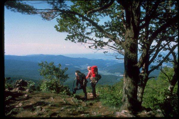 Backpacking in Shenandoah National Park