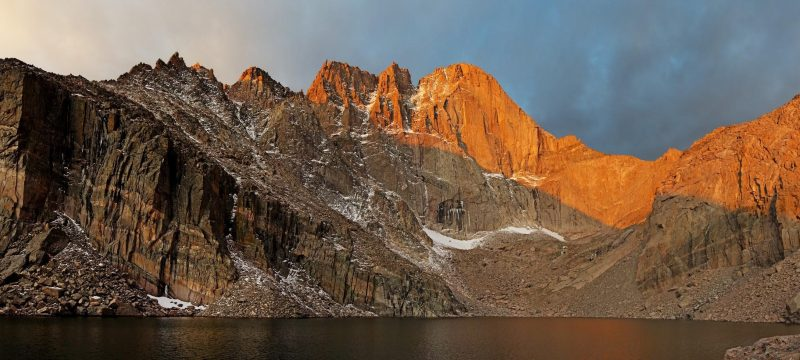 Longs Peaks in Colorado