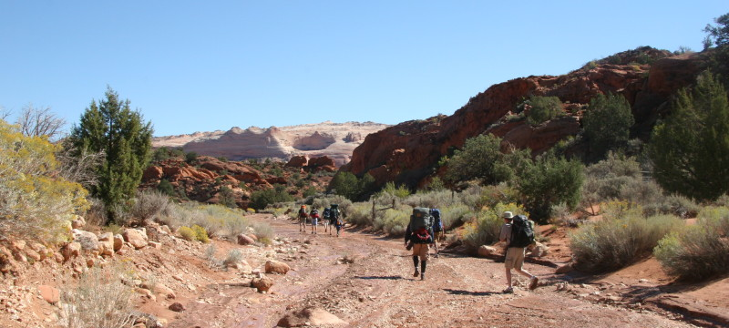 hiking permits