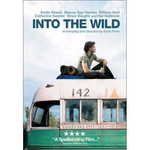 Into the wild, movies, films, backpacking