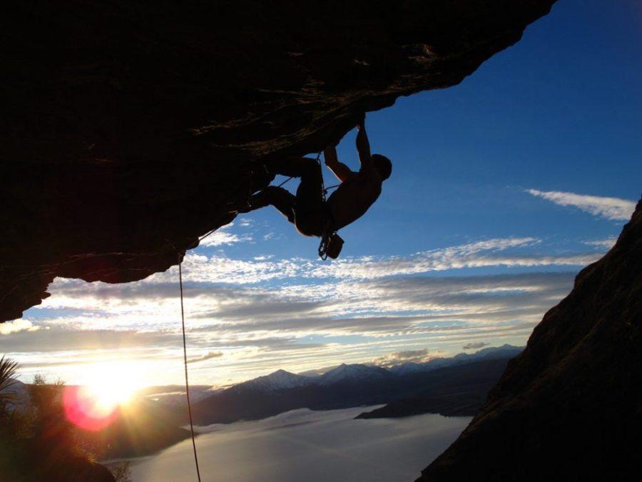 rock climbing, climb