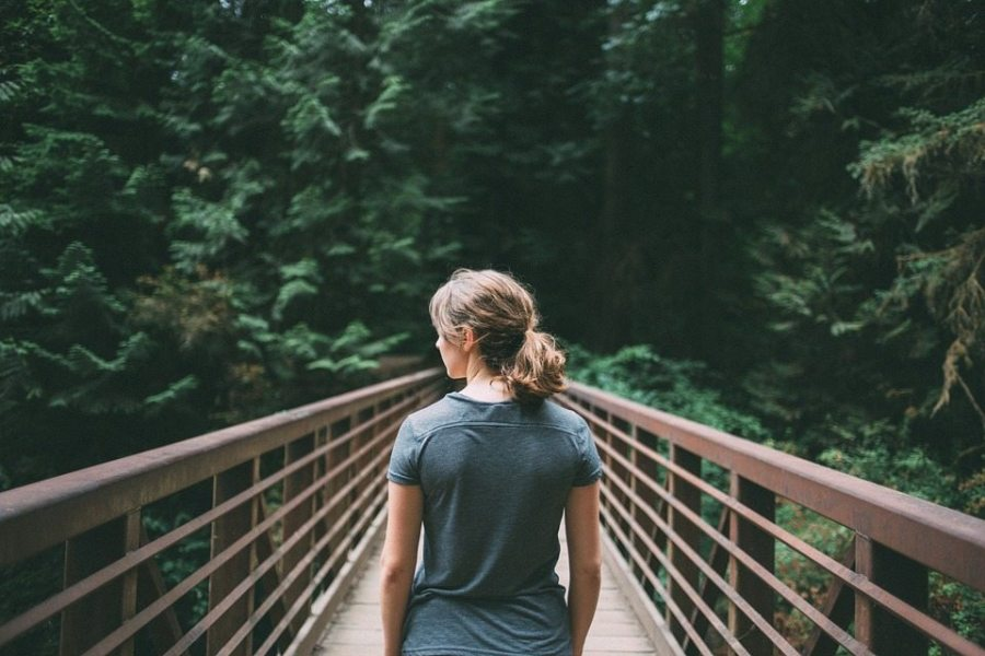 hiking, woman, women, worry-free