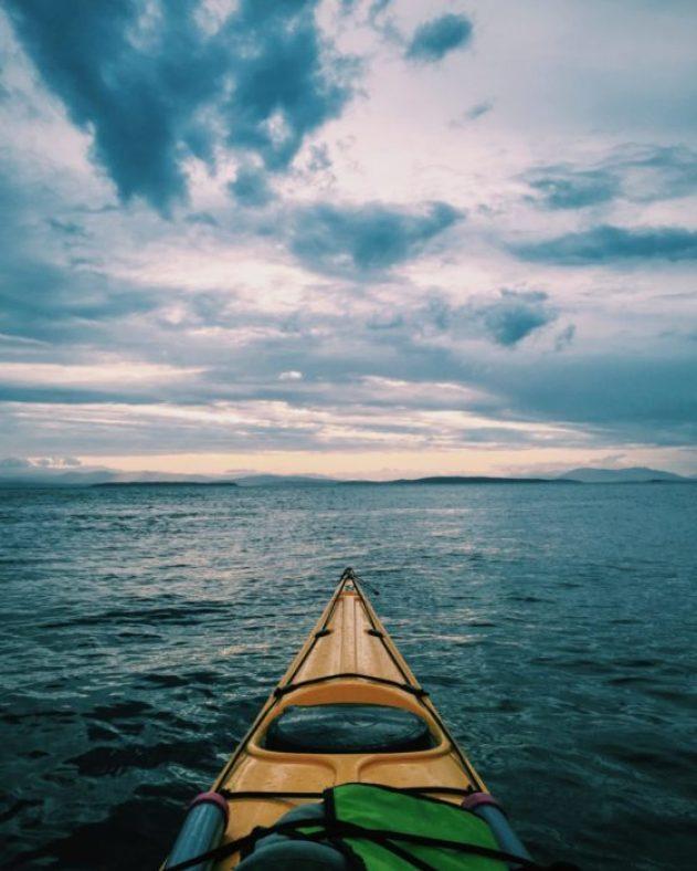 Kinsey Justa, kayaking, backcountry, anthropology