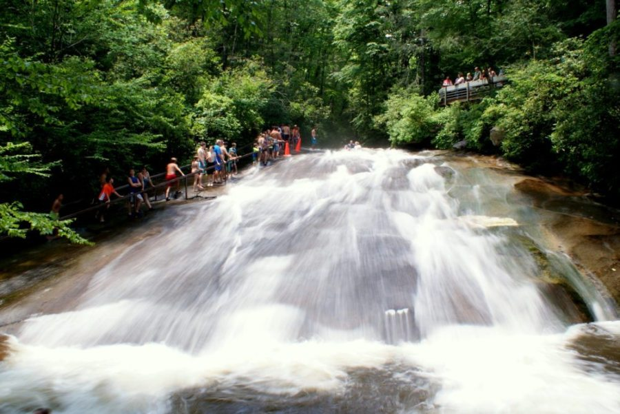 Sliding Rock, North Carolina, swimming holes, swim, swimming