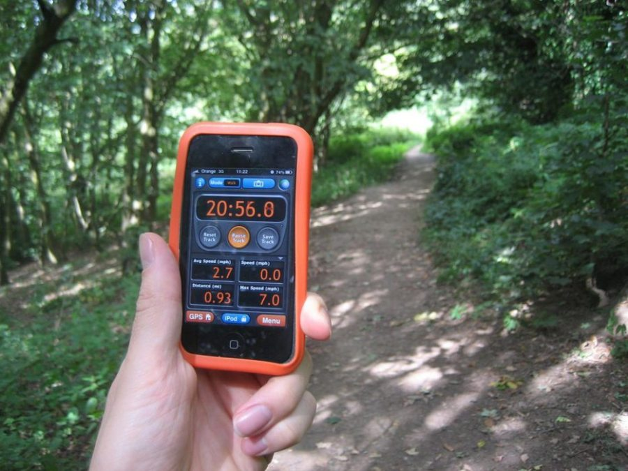 keep busy, hiking, GPS, waypoints