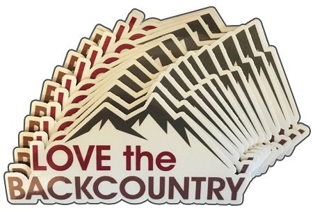 Love the Backcountry Sticker