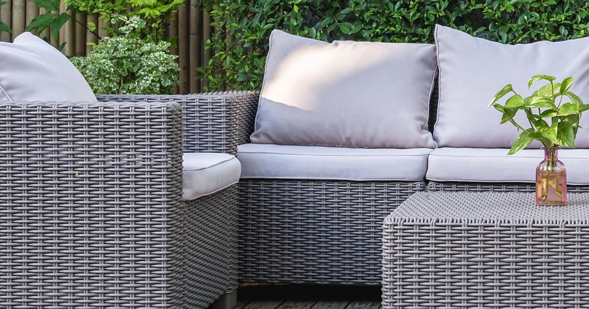 Garden Furniture Add The Finishing Touch Love The Garden