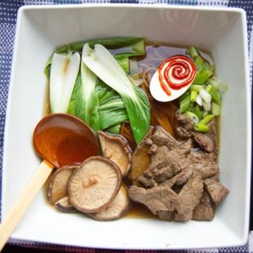 Chilli Beef Ramen Soup