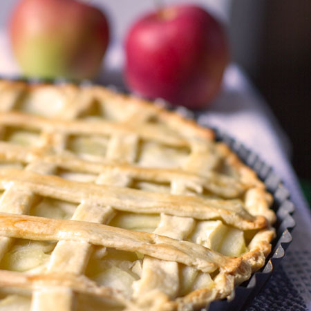French Country Apple Pie