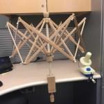 The library has a yarn spinner (aka yarn swift)!