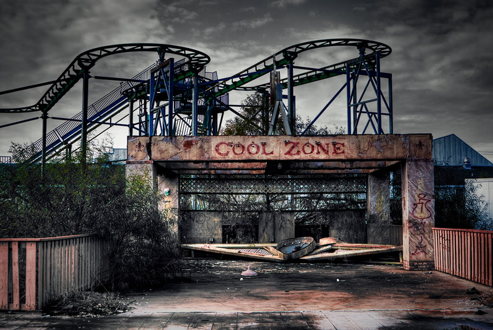 Cool Zone - abandoned Six Flags - New Orleans