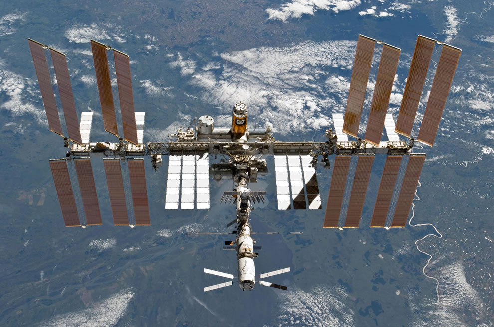 International Space Station March 2011