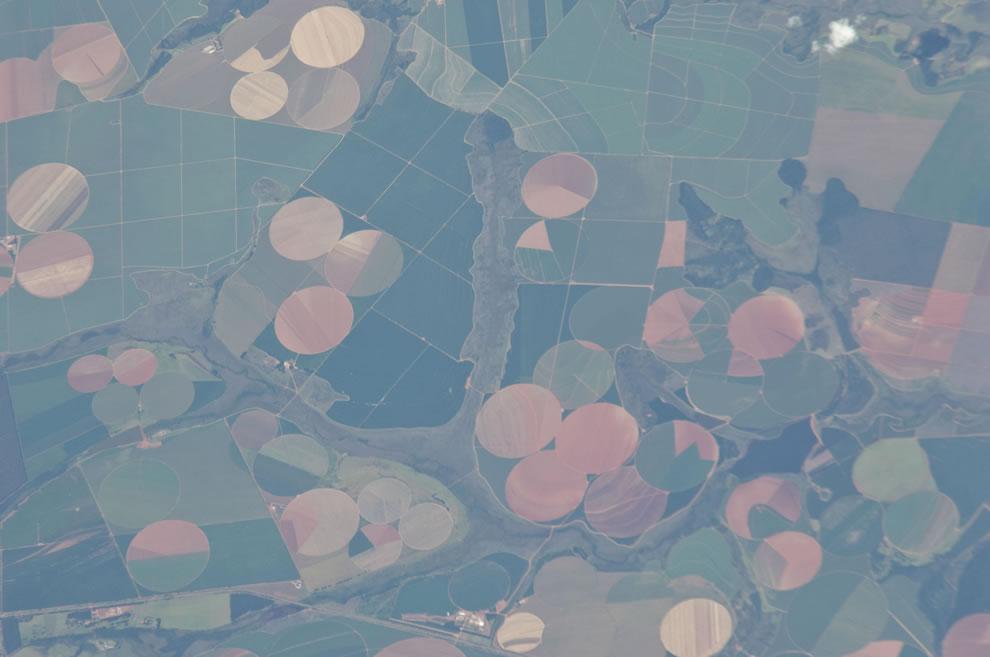 Perdizes, Minas Gerais, Brazil as seen from ISS