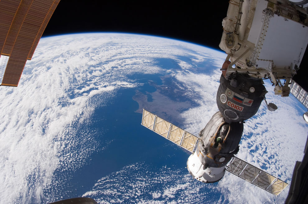 Russian Soyuz Spacecraft from ISS