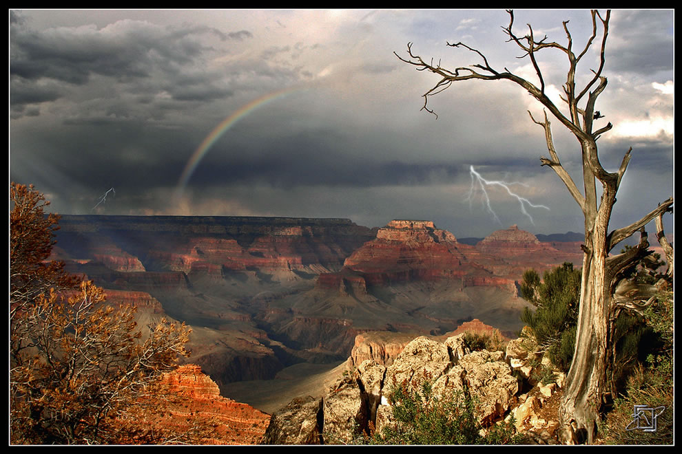 Storm over Grand Canyon National Park