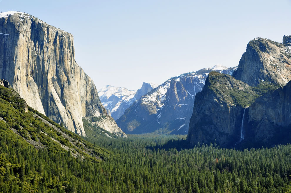 Yosemite National Park  -- Yosemite Valley from Tunnel View