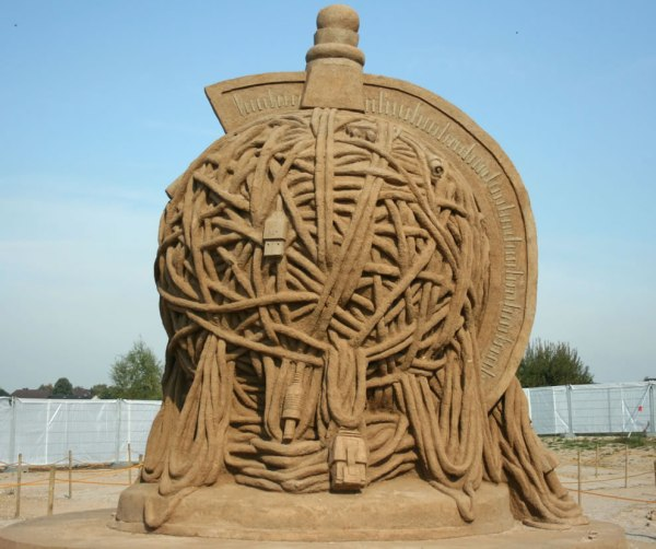 Sand Castle Art Sculptures Sands And