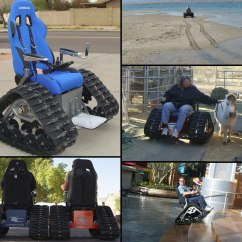 Tank Chair Wheelchair Chromcraft Office Chairs 35 Wildly Wonderful Design Concepts The By T C Mobility Designs