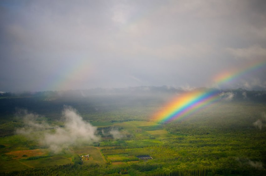 but the best and most beautiful rainbow in the world, could lie upon us !2