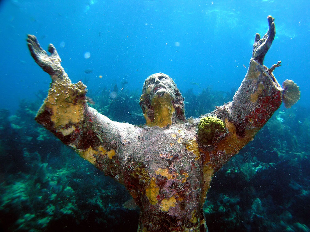Christ of the Abyss, Florida Keys