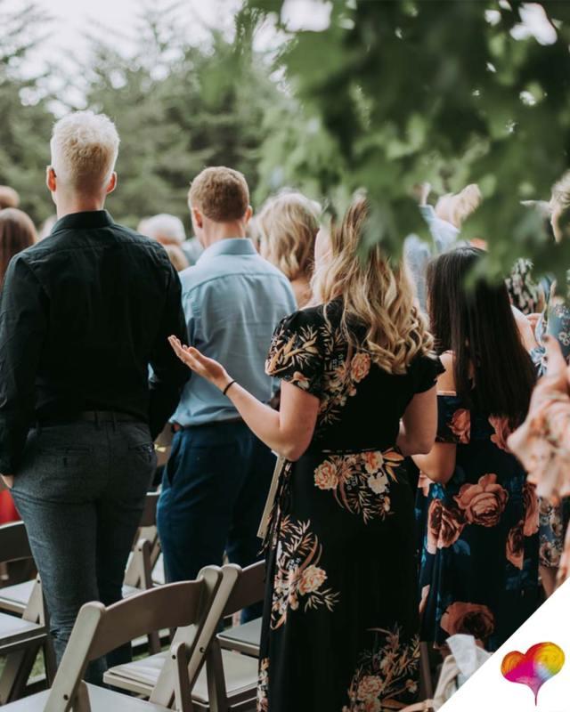 Hochzeitsgast kein Kleid tragen