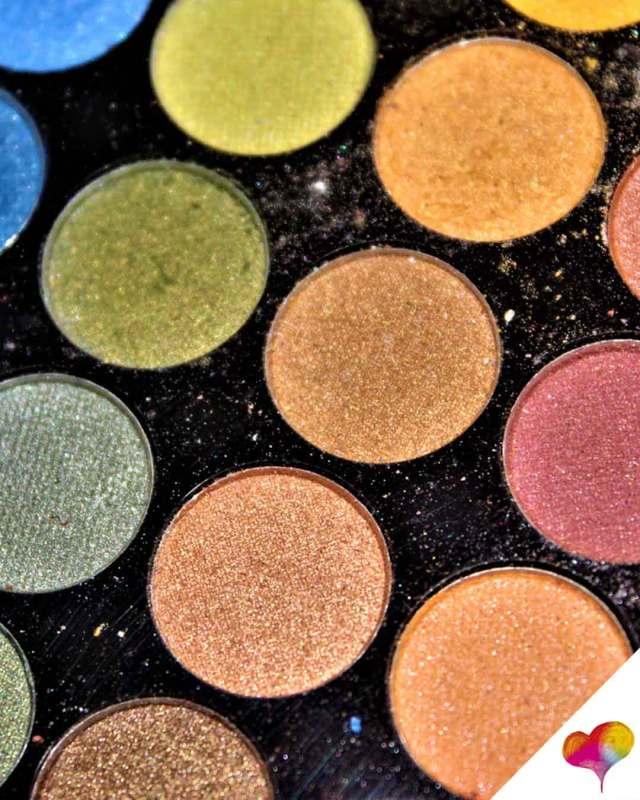 huda beauty lidschatten test
