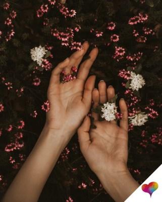 Sehr trockene Hände