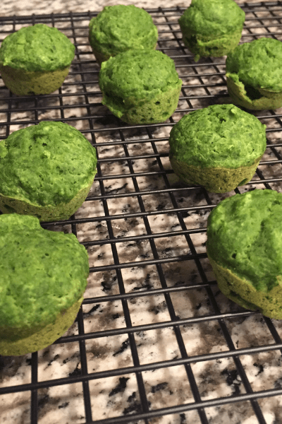 Mini Spinach Muffins