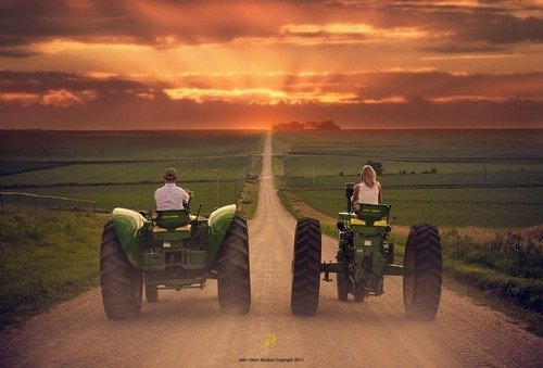 Girl Tractor Wallpaper Country Love Pictures Photos And Images For Facebook