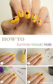 diy summer nails