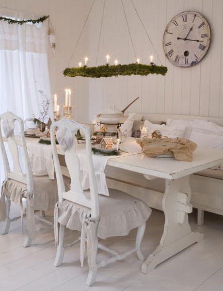 Shabby Chic Dining Area Pictures, Photos, and Images for